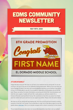 EDMS Community Newsletter