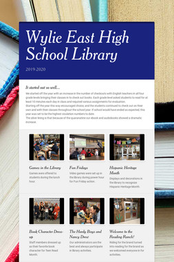 Wylie East High School Library