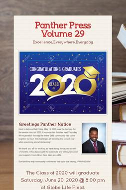 Panther Press Volume 29