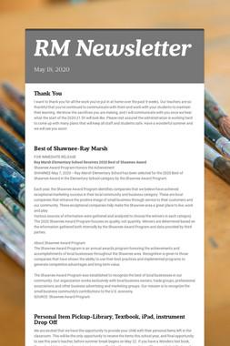 RM Newsletter