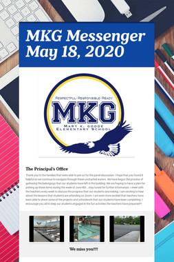 MKG Messenger May 18, 2020