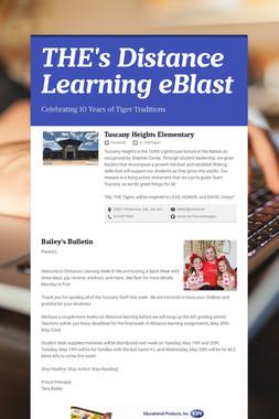 THE's Distance Learning eBlast