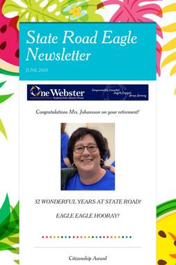 State Road Eagle Newsletter