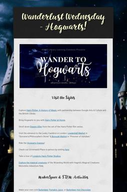 Wanderlust Wednesday - Hogwarts!