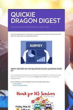 QUICKIE DRAGON DIGEST
