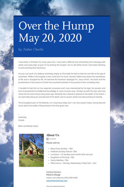 Over the Hump  May 20, 2020