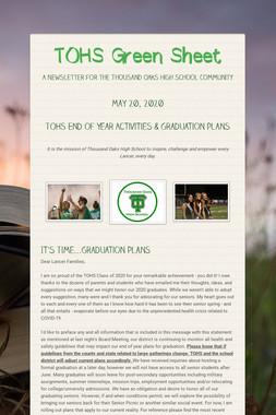TOHS Green Sheet