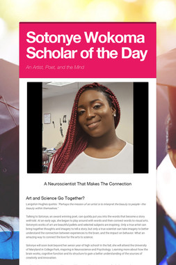 Sotonye Wokoma Scholar of the Day