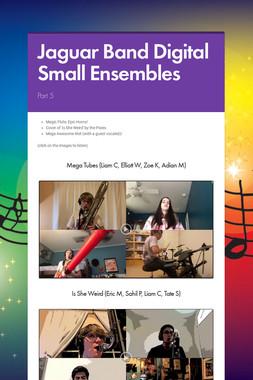 Jaguar Band Digital Small Ensembles
