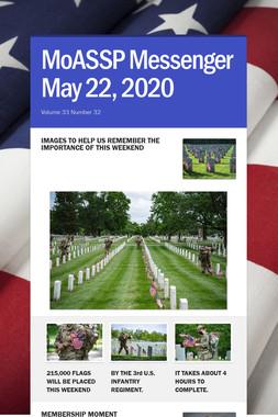 MoASSP Messenger May 22, 2020