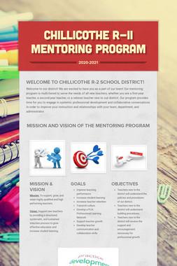 Chillicothe R-II Mentoring Program