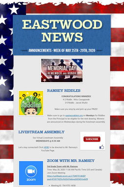Eastwood News