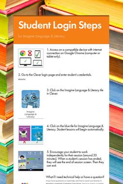Student Login Steps