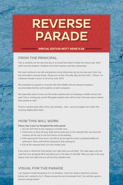 Reverse Parade