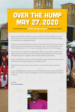Over the Hump  May 27, 2020