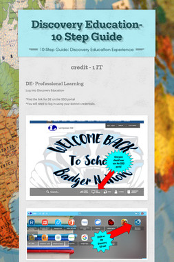 Discovery Education- 10 Step Guide