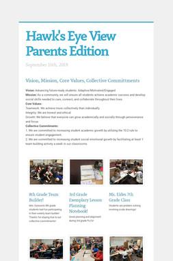 Hawk's Eye View  Parents Edition