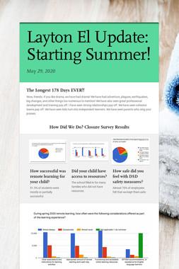 Layton El Update: Starting Summer!
