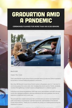 Graduation amid a pandemic