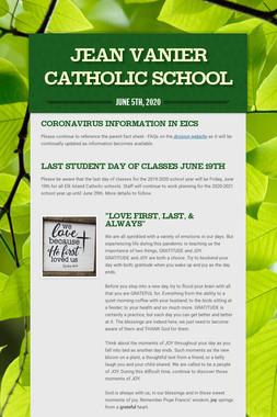 Jean Vanier Catholic School