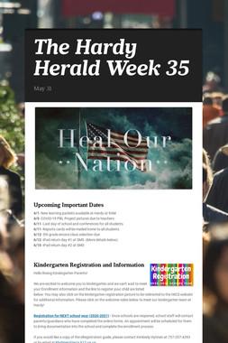 The Hardy Herald Week 35