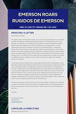 Emerson Roars Rugidos de Emerson
