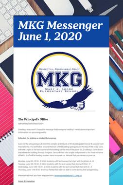 MKG Messenger June 1, 2020