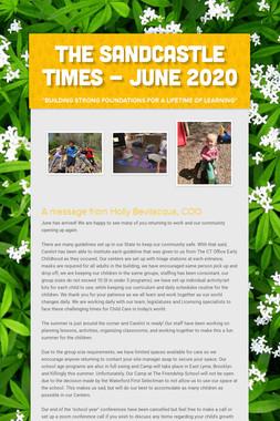 The Sandcastle Times - June 2020