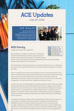 ACE Updates