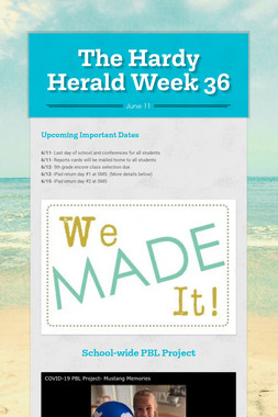 The Hardy Herald Week 36