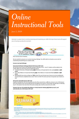Online Instructional Tools
