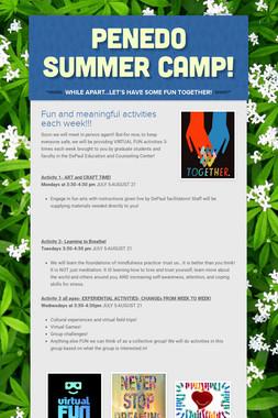 PENEDO Summer Camp!