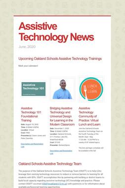 Assistive Technology News