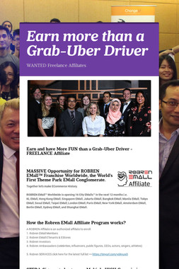 Earn more than a Grab-Uber Driver