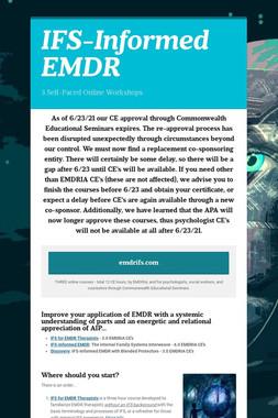 IFS-Informed EMDR