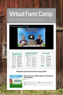 Virtual Farm Camp