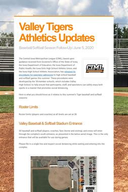 Valley Tigers Athletics Updates