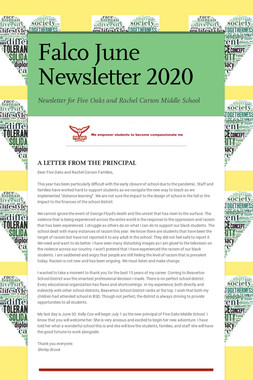 Falco June Newsletter  2020