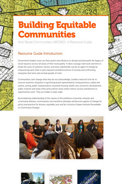 Building Equitable Communities
