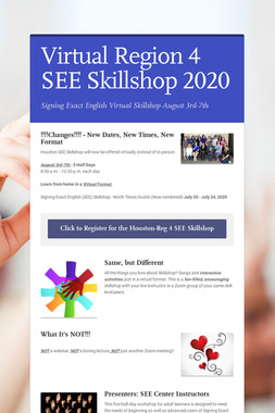 Virtual Region 4 SEE Skillshop 2020