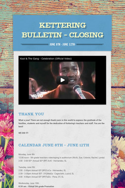 Kettering Bulletin - CLOSING