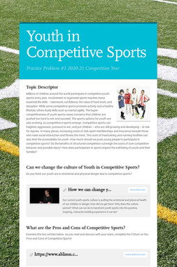 Youth in Competitive Sports