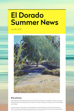 El Dorado Summer News