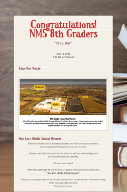 Congratulations! NMS 8th Graders