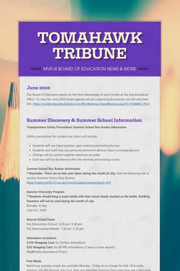 TOMAHAWK TRIBUNE