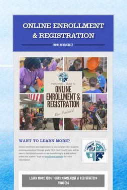 Online Enrollment & Registration