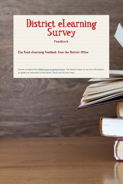 District eLearning Survey