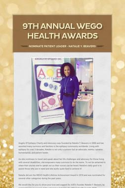 9th Annual WEGO Health Awards