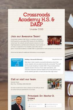 Crossroads Academy H.S. & DAEP