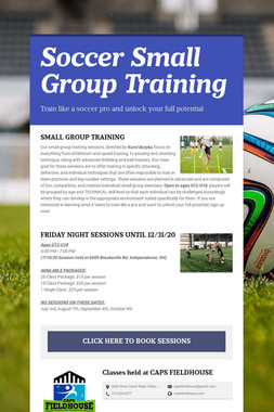Soccer Small Group Training